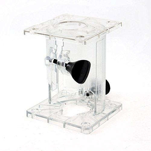 Claro Cilindro de plástico en forma de escudo Base para Makita 3703 Trimmer