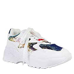 Women's Triple Sole Sequin Sneakers