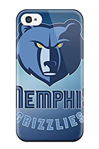 Fashion MDJdDHY779gjtzY Case Cover For Iphone 4/4s(basketball Nba Memphis Grizzlies )