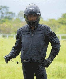 MotoAir Airbag One Motorcycle Airbag Vest Black Small - Medium