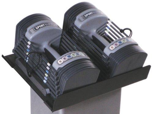 Power Block GF-SPDBLK24 Adjustable SpeedBlock Dumbbells (Pack of 2), Black, 24lb. by POWERBLOCK (Image #2)