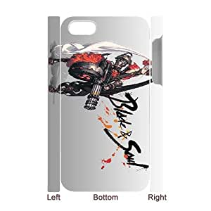 Blade & Soul iPhone 4 4s Cell Phone Case 3D White yyfD-216174
