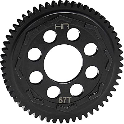 Hot Racing SATF257 57t Mod 0.8 Steel Spur Gear Arrma 1/10 4x4 Blx: Toys & Games