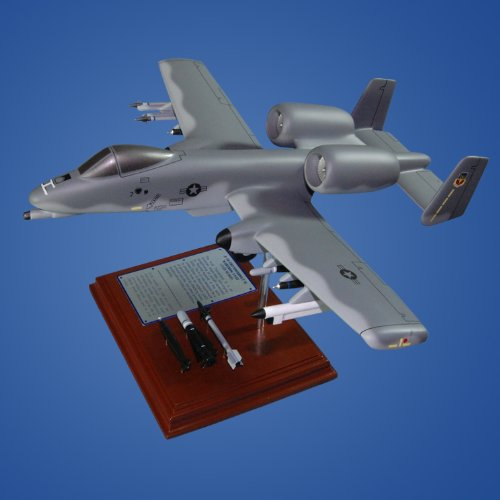 Mastercraft Collection Planes and Weapons Series Fairchild Republic A-10A Thunderbolt Warthog Model Scale:1/55 (Marine Scale Collection)