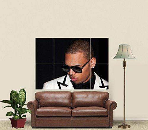 Chris Brown Artist Rap Star Music Giant Art Poster Print Picture