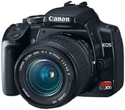 Canon Rebel XTi DSLR Camera with EF-S 18-55mm f/3.5-5.6 Lens (OLD MODEL)