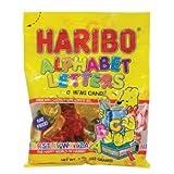 HARIBO ALPHABET LETTERS 5 OUNCES 12 COUNT