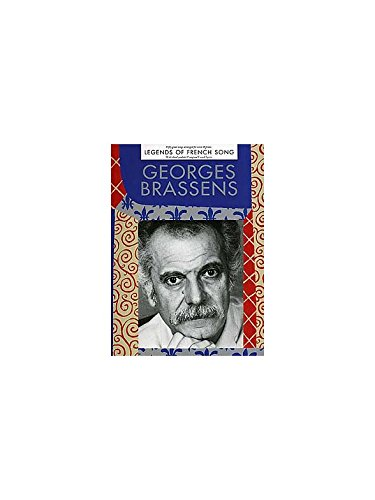 Georges Brassens Legends Of French Song Partitions Pour Piano