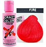Crazy Color Fire. Semi-Permanent Hair Dye 100ml