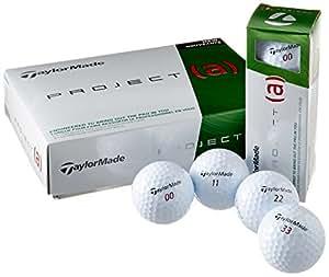 TaylorMade proyecto (a) pelotas de golf (1docena)