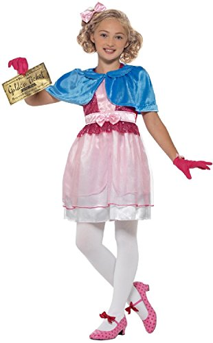 5-6 Roald Dahl Book Day Veruca Salt Willy Wonka Girls Fancy Dress Costume Dress