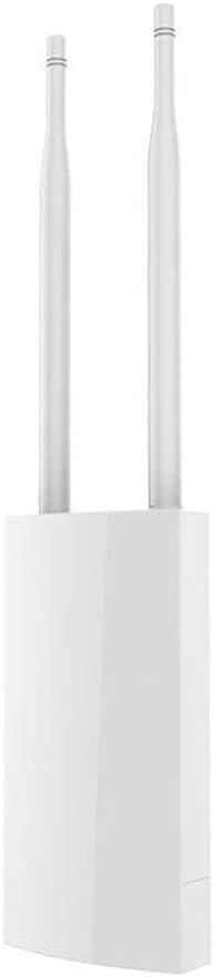 Routers 4G tarjeta SIM punto de acceso inalámbrico Wi-Fi Router IP66 router inalámbrico portátil a prueba de agua blanca 4G para computadoras consolas de juegos ( Color : White , Size : 353x85x44mm )
