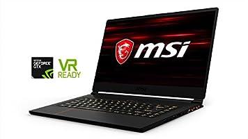 "MSI GS65 Stealth Thin and Light Bezel Gaming & Business Laptop (Intel 8th Gen Coffee Lake i7-8750H 6-Core, 32GB RAM, 512GB Sata SSD, 15.6"" FHD Display, GTX 1070 8GB, Thunderbolt3, Win 10 Pro) VR ready"