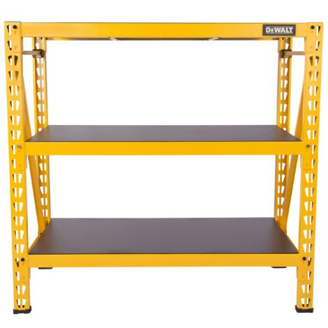 DEWALT 3-SHELF INDUSTRIAL RACK (With Drop Kitchen Clearance Leaf Island)