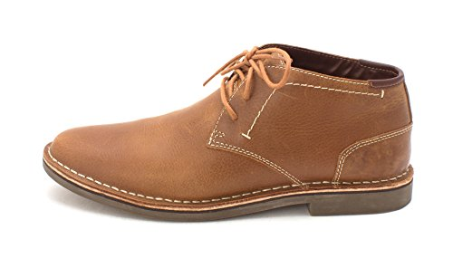 Desert Leather Footwear - Kenneth Cole REACTION Mens Desert Win Leather Lace Up, Brown/Marron, Size 11.0 H