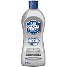 Bar Keepers Friend Multipurpose Ceramic and Glass Cooktop Cleaner | 13-Ounces | 1-Pack