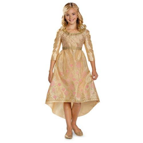 Disguise Disney Maleficent Movie Aurora Coronation Gown Girls Classic Costume, Medium/7-8