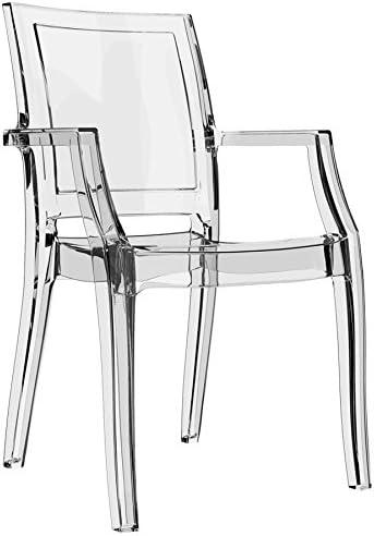 chaise transparente plastique design