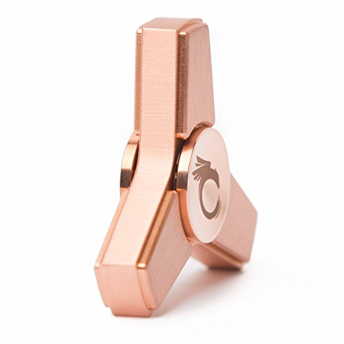 Cool Fidget Spinner Metal Toy - Rose Gold Hand Spinner, Finger Figit Toy with Nice Gift Case Photo #4