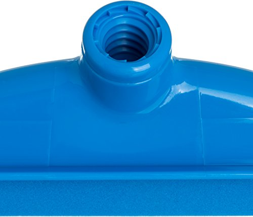 Carlisle 4156814 Spectrum Double Foam Rubber Hygienic Floor Squeegee, 24'' Width, Blue (Case of 6) by Carlisle (Image #4)