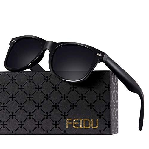 Polarized Sunglasses for Men Retro - FEIDU Polarized Retro Sunglasses for Men FD2149 ()