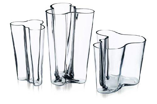 - Aalto iittala Vase - Clear - Small