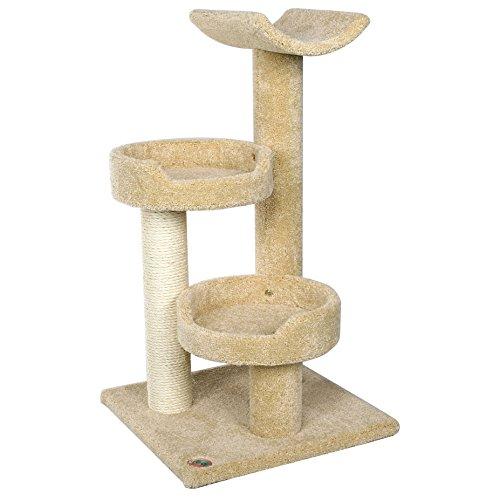 Go Pet Club LP-809 Premium Carpeted Cat Tree (Carpeted Cat)