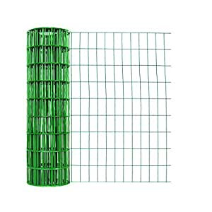 Origin Point Brands 713650 14-Gauge PVC Coated Green Utility Fence, 50-Foot X 36-Inch (Discontinued by Manufacturer)