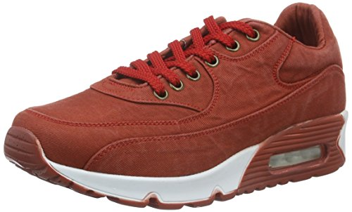 Adulte 02 Mixte PRS Red RYT Sneakers Basses Rot IcUZg7wOqw