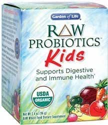 Garden of life raw organic probiotic kids 4 pack health personal care for Garden of life probiotics amazon