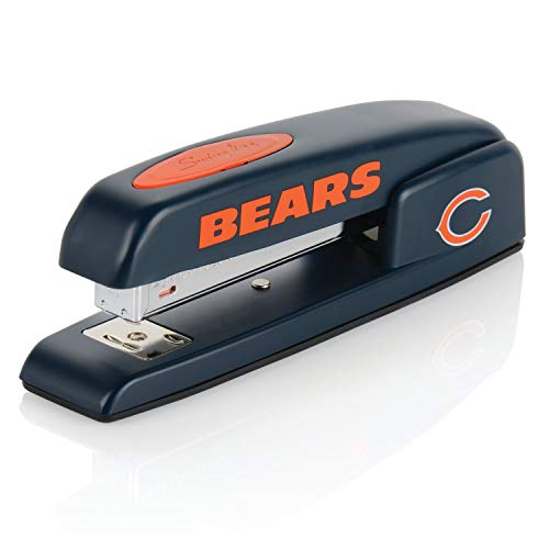 Chicago Bears Stapler, NFL, Swingline 747, Staples 25 Sheets (S7074059) (Renewed) - Construction Acco Stapler