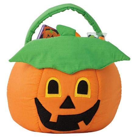 Cute Halloween Buckets - Pumpkin Halloween Treat Bag - Large