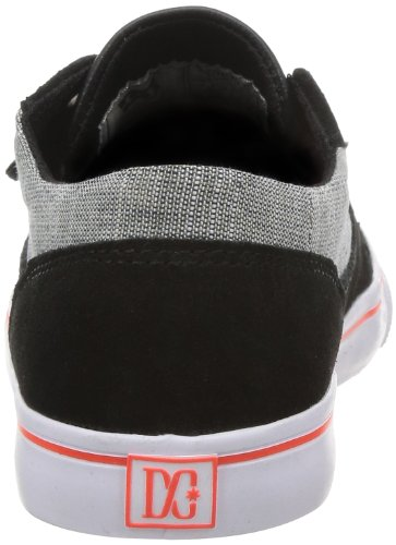 DC Shoes DC Shoes - Schuhe - BRISTOL LE WOMENS BRISTOL LE - D0303214-BB2D - black D0303214-BB2D - Zapatillas de deporte de cuero para mujer Black/Goji