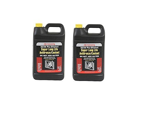 Toyota Corolla Coolant - Set of 2 Toyota-Scion Engine Coolant / Antifreeze Genuine 00272SLLC2
