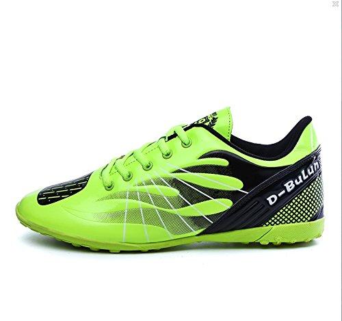 XING Lin Fußball Schuhe Herren Fußball Schuhe Broken Nägel Fußball Training Schuhe Leder Schuhe Fluorescent