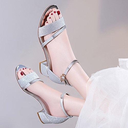 Fresco Audaz Operaciones Zapatillas De De Y La Zapatos Mujer De Terraza De Versión Paz De De Para El AJUNR De Los Salvajes Verano Coreana Usar La 37 Cosas Mantenimiento Moda Con Sandalias Zapatos De Moda 1gSO7w