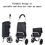 TSDS Portable Shopping Cart Wrought Iron Trolley