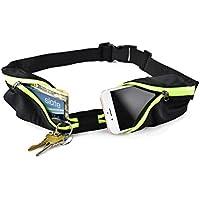 Running Belt by JumpFit Ultra / Adjustable Waist Pack -...