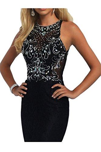 vestito da ressing ivyd della alta di pietre vestito qualità da Damen linea sera Nero girocollo popolare Fest festa PPdZqw