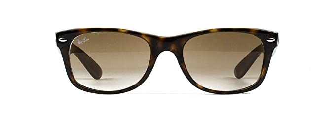 b586fc51d Image Unavailable. Image not available for. Color: Ray-Ban RB2132 New  Wayfarer Gradient Unisex Sunglasses (Light Havana Frame/Crystal Brown