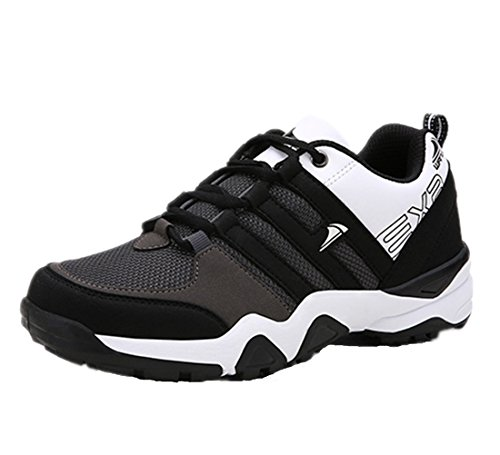 Mzcurse Mens Casual Running Fashion Versatile Sneakers Athletic Sport Shoes Grey Fg78RJBOar