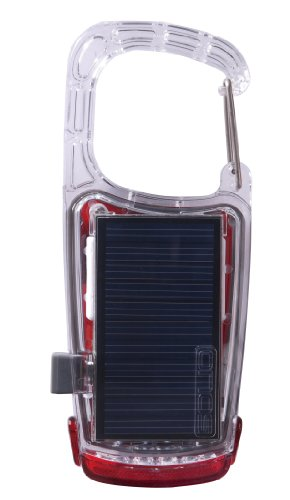 Solio Clip-Mini Solar & USB Rechargeable LED Light (Charger Solio Solar)