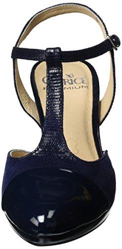 Caprice Damen 29608 T-spange Blau (oceano Re.comb)