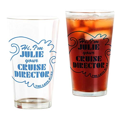 Love Boat Julie Cruise Director Pint Glass, 16 oz. Drinking Glass