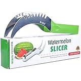 Watermelon knife Slicer, As Seen on TV Stainless Steel Server Corer Cutter for Watermelon Cantaloupe or Honeydrew,Sharper & Sturdy & Safe