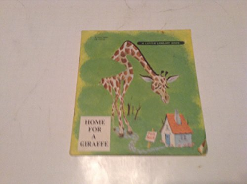 HOME FOR A GIRAFFE BOOK AND RECORD