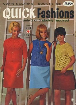 (Quick Fashions: Only 2 or 3 Skeins Required, Book No. 185)