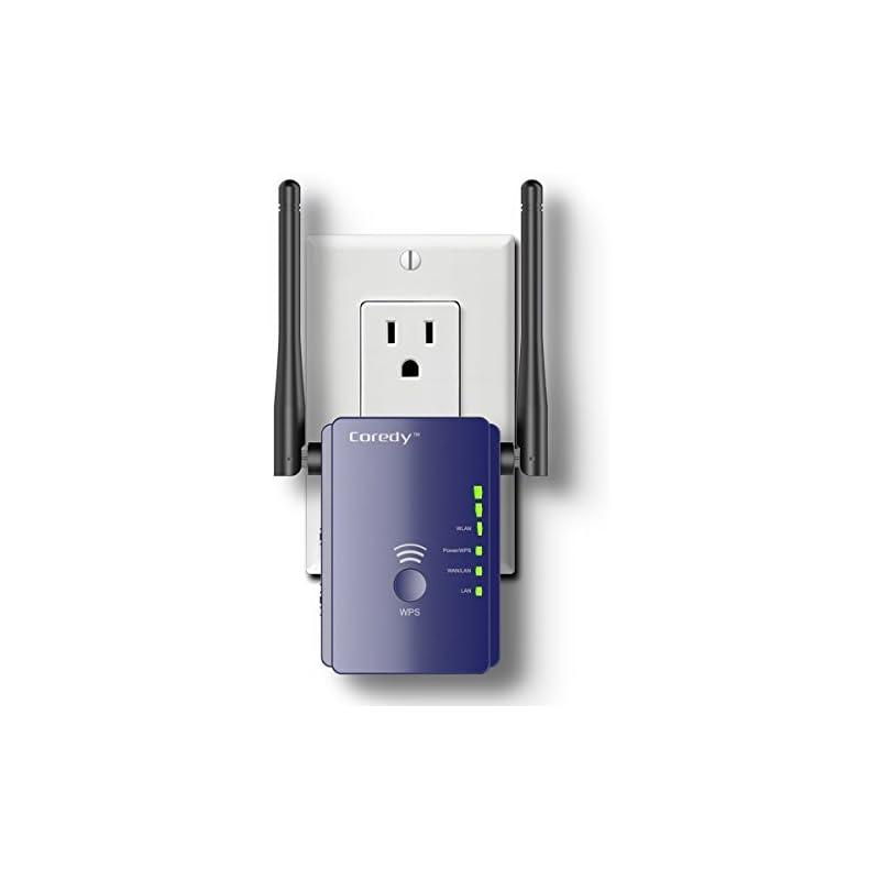 Coredy 300Mbps Mini WiFi Extender/Wi-Fi