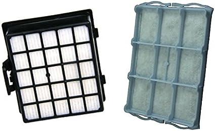 Juego de filtros para aspiradora Siemens vs06g2510 Aspiradora synchropower de MicroSafe®: Amazon.es: Hogar