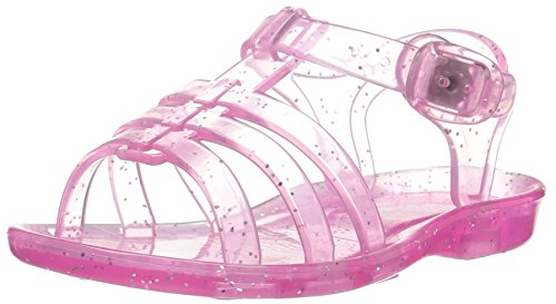 Carter's Lexi Girl's Jelly Sandal, Pink, 9 M US Toddler - Jelly Water Shoe